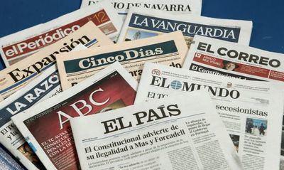 Los periódicos españoles se han dejado el 73% de las ventas en una década