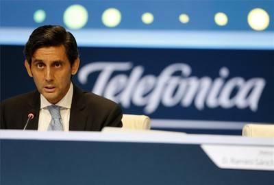 Telefónica distribuirá un dividendo de 0,40 euros por acción