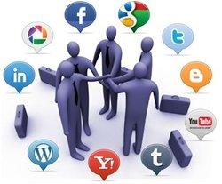 Redes sociales en empresa (Foto: Soxialmedia.com)