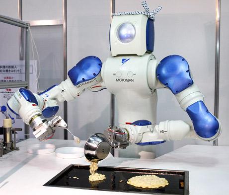 Los robots se abren paso en la cocina