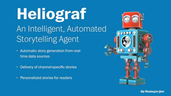El robot de 'The Washington Post' escribe 850 noticias en un año