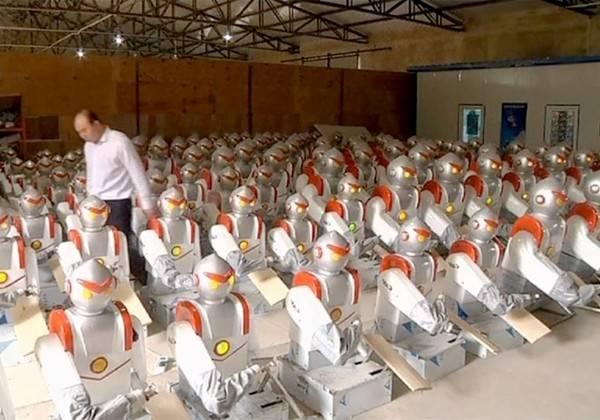 Una fábrica china aumenta un 250% la producción... al eliminar al 90% de los humanos