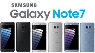 Samsung paraliza la venta del Galaxy Note 7 tras la quema de dos terminales durante la carga