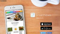 """La aplicación móvil """"SmartNews"""" se ha convertido en la aplicación de noticias número uno en Japón, superando los 10 millones de descargas"""