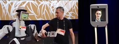 (6) Robots de telepresencia y humanoides, los invitados sorpresa del TED