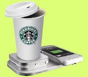 Starbucks implantará la recarga inalámbrica en sus cafeterías