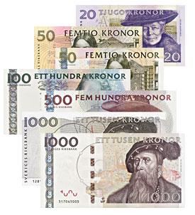 Suecia entierra el dinero en efectivo