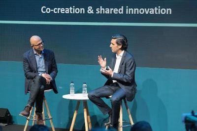 Alianza estratégica de Telefónica y Microsoft