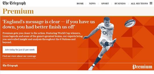 'The Telegraph' ve aumentar un 300% las suscripciones tras derribar su muro de pago