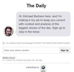 'The New York Times' lanza un podcast informativo diario