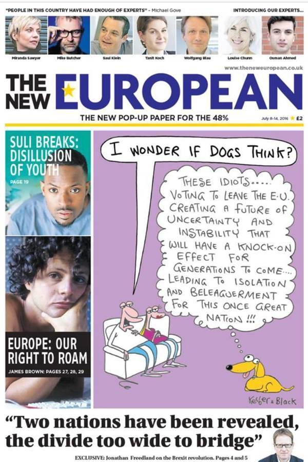 El extraño caso del semanario en papel proeuropeo que triunfa en UK