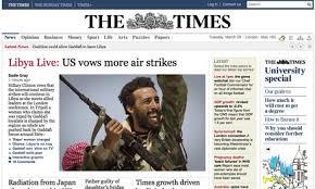 """The Times"" solo actualizará su web tres veces diarias"