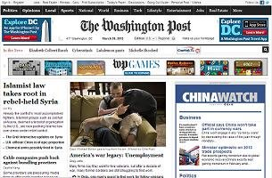 El Washington Post cobrará por sus contenidos digitales