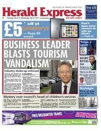 Una oleada de diarios británicos regionales se convierten en semanales