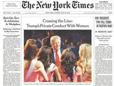 ¿En qué ha afectado a la prensa la victoria de Trump?