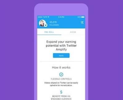 Twitter pagará a sus usuarios por crear vídeos