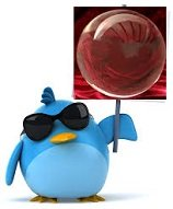Twitter, ¿la bola de cristal que predice el futuro?