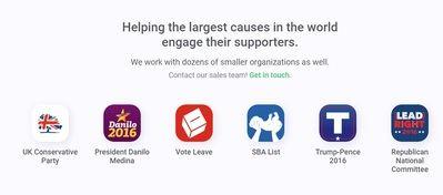 El filtro burbuja en estado puro: así funcionan las apps para los republicanos estadounidenses