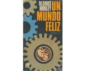 Portada del libro edición en español de 'Un mundo feliz'