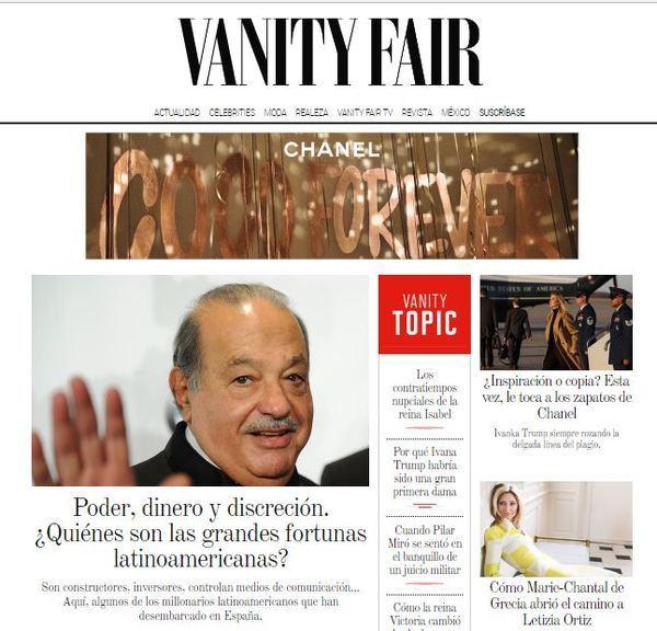 'Vanity Fair', tercera revista de Condé Nast en introducir un muro de pago