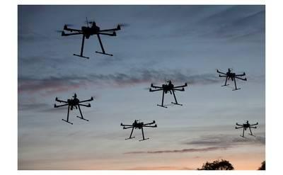 Vodafone quiere gestionar el tráfico aéreo de drones