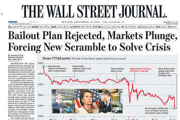 'The Wall Street Journal' comienza a tambalearse