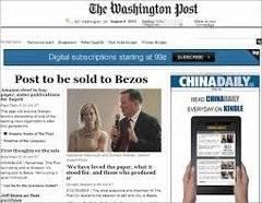 'The Washington Post' ofrece opiniones contrapuestas en los artículos