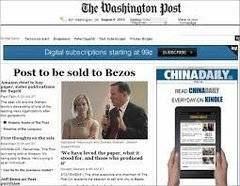 Las suscripciones de 'The Washington Post' se han triplicado desde 2016
