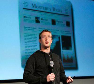 La relación de amor-odio entre Facebook y la prensa